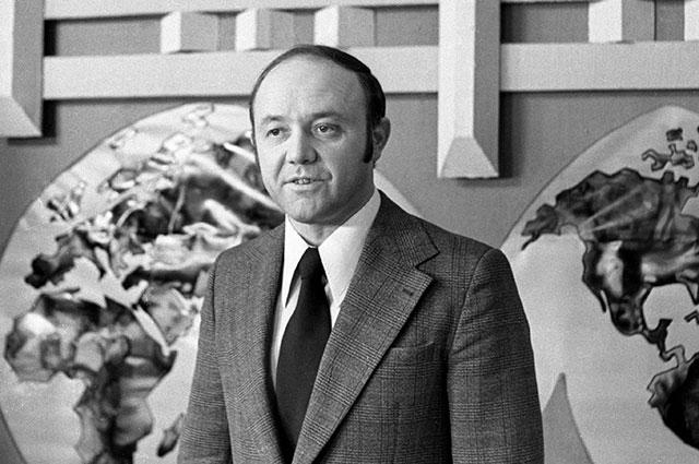 Юрий Сенкевич, 1977 г.