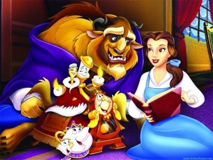 В мультфильме, созданном студией «Walt Disney Pictures» Бэлль не стремится замуж, а делает ставку на развитие интеллекта и кругосветные путешествия.