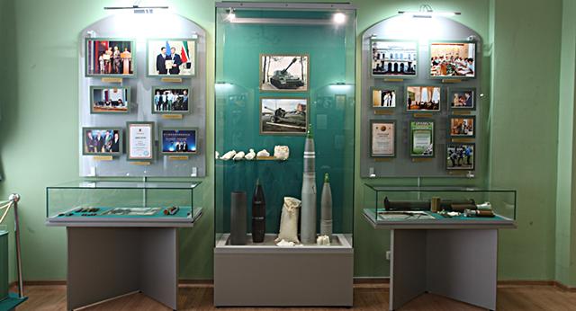 Экспонаты музея боевой и трудовой славы «Заречье» Казанского порохового завода.