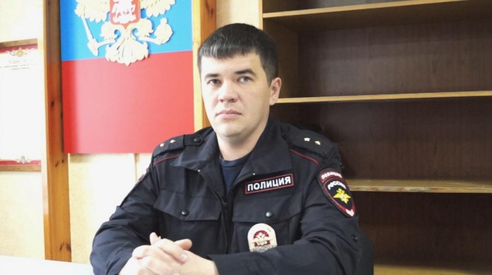 Прапорщик Денис Нигаматулин.
