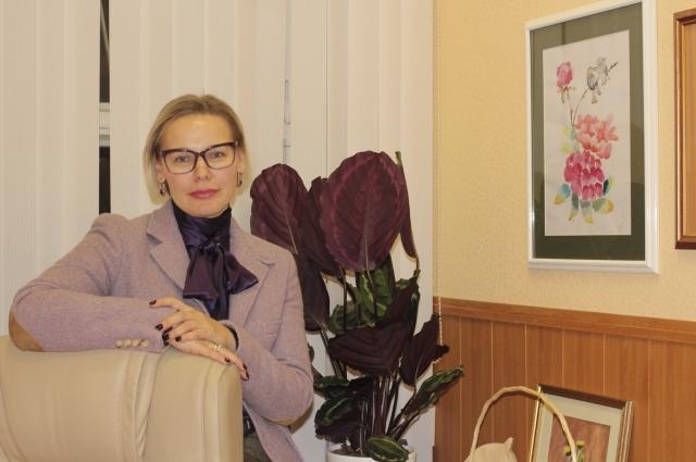 проректор Тверского государственного университета, профессор, доктор географических наук Наталья Сердитова.