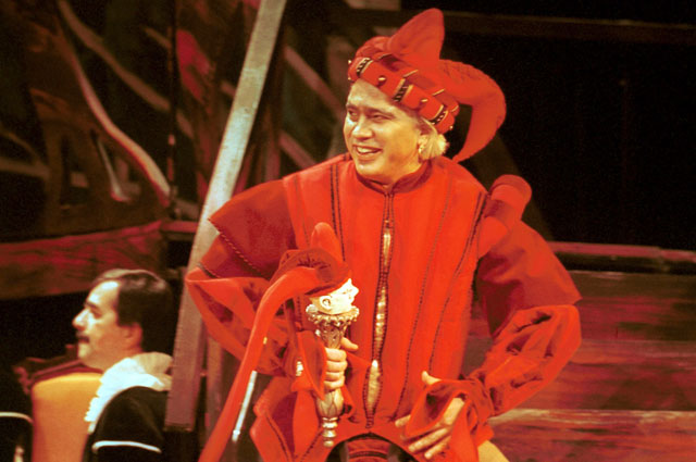 Дмитрий Хворостовский в опере Риголлето . 2000 год