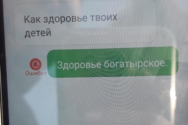 Угрозы в адрес заммэра Бердянска от зоозащитников: Фрагмент переписки