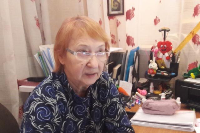 Татьяна Анциферова.