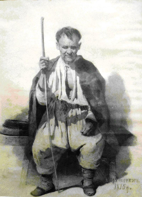 портрет, мартынович