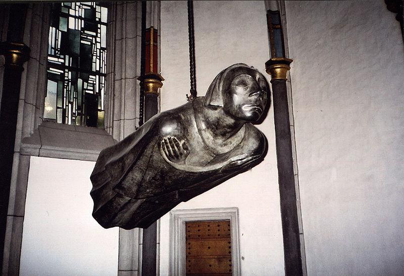 Эрнст Барлах. Парящий ангел.
