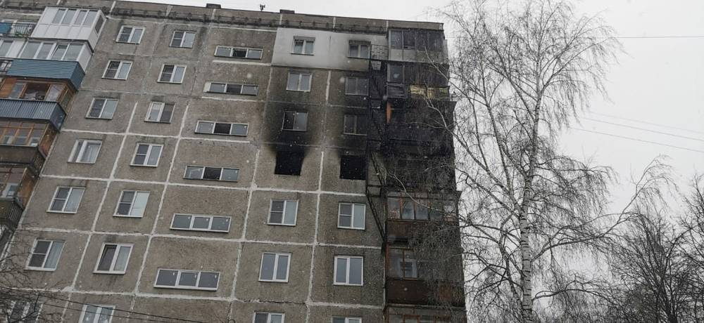 Пожар на Березовской