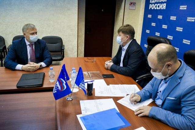 Алексей Дёмкин 27 мая подал документы на включение его в партийный список на выборах в думу Перми.