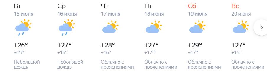 погода томск