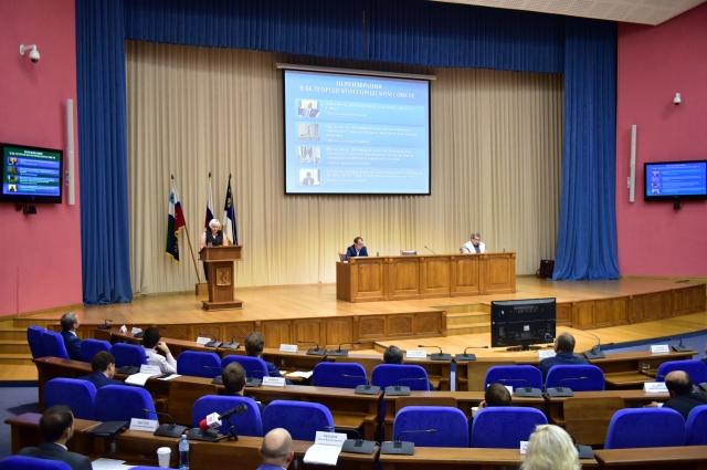 28 сентября 2021 года состоялась сессия, на которой были подведены итоги третьего года работы депутатского корпуса.