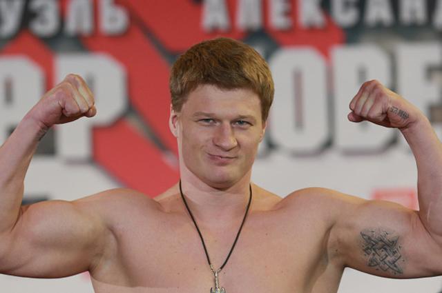 Александр Поветкин. 2014 год