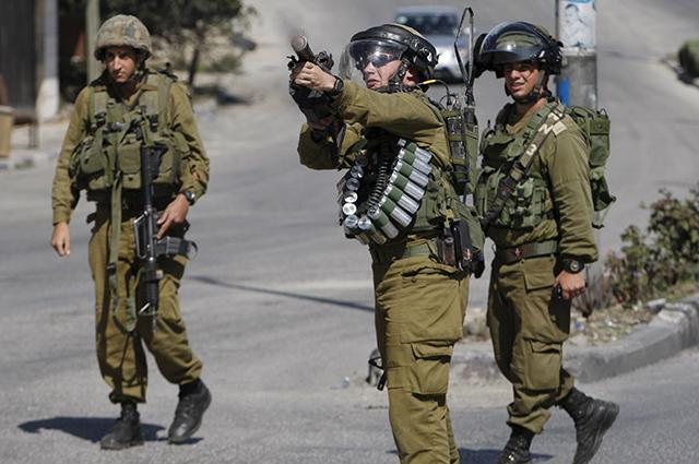 Израильские военные.