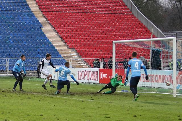 «Крылья» проиграли «Краснодару» со счетом 0:4.