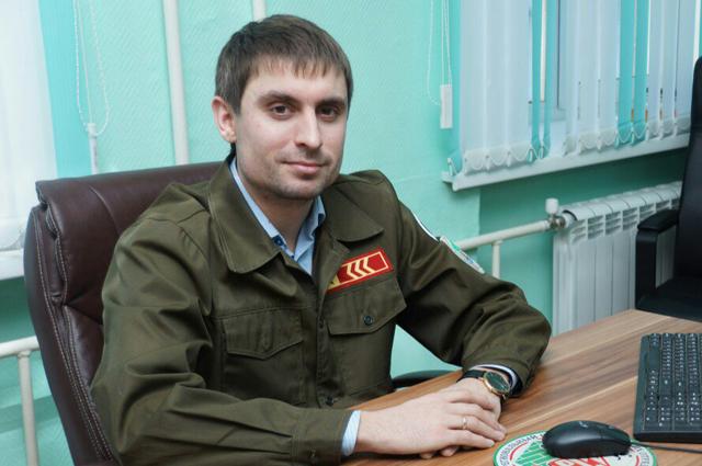 Руководитель Новосибирского регионального отделения МООО «РСО» Руслан Фидирко
