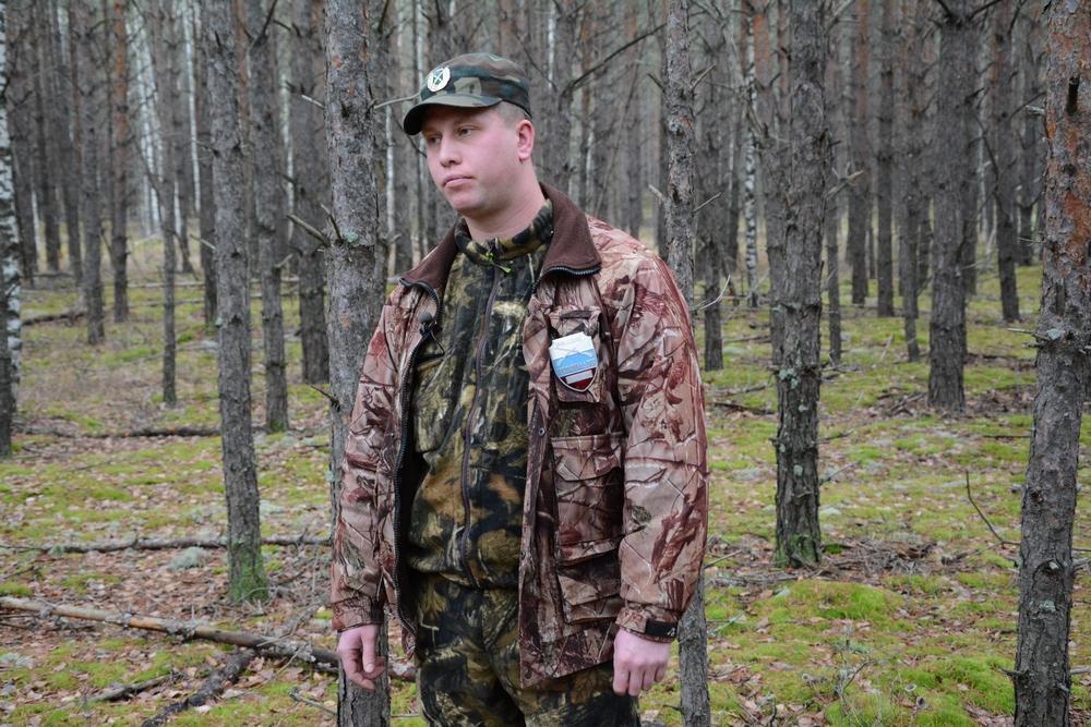 Охотинспектор Сергей Кузин после того, как поймал на браконьерстве чиновника Росприроднадзора Алексея Григорьева.