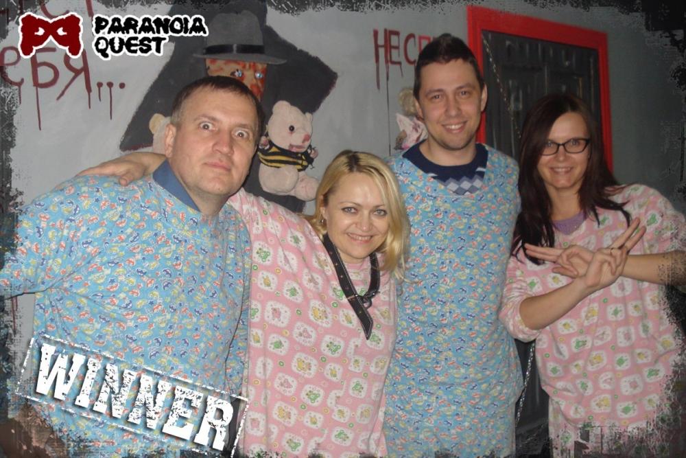 В новой версии игроки надевают пижамы.