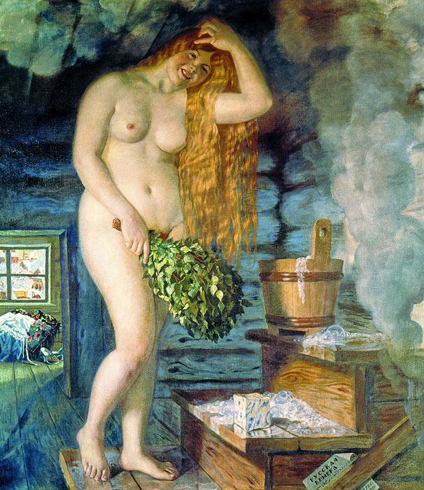 Моделью для Венеры стала Елена Григорьевна Николаева.