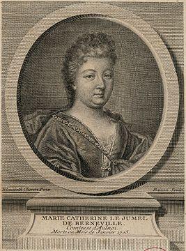 Одна из основоположниц классической французской сказки Мари-Катрин д'Онуа.