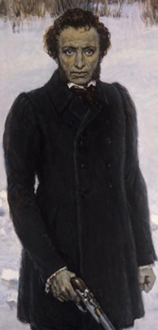 Картина Ю. Непринцева Последняя минута, репродукция