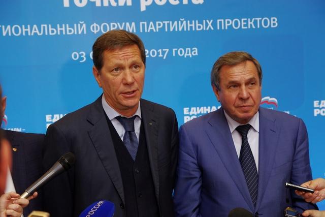 Владимир Городецкий и Александр Жуков рассказали, что ждёт горожан в ближайшие 3 года