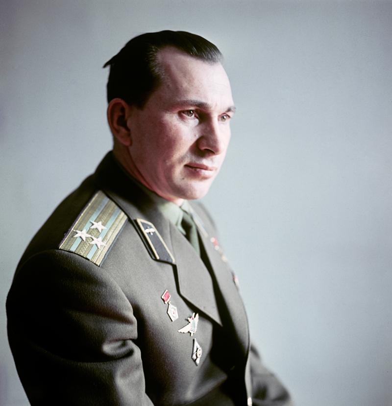 Павел Иванович Беляев (1925-1970) - летчик-космонавт СССР, Герой Советского Союза. 1965 год.