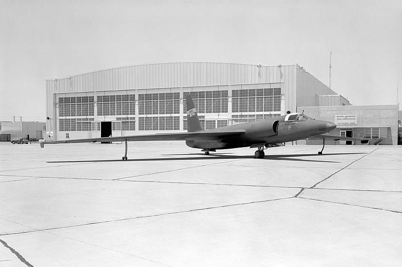 Американский Lockheed U-2, замаскированный под самолёт НАСА