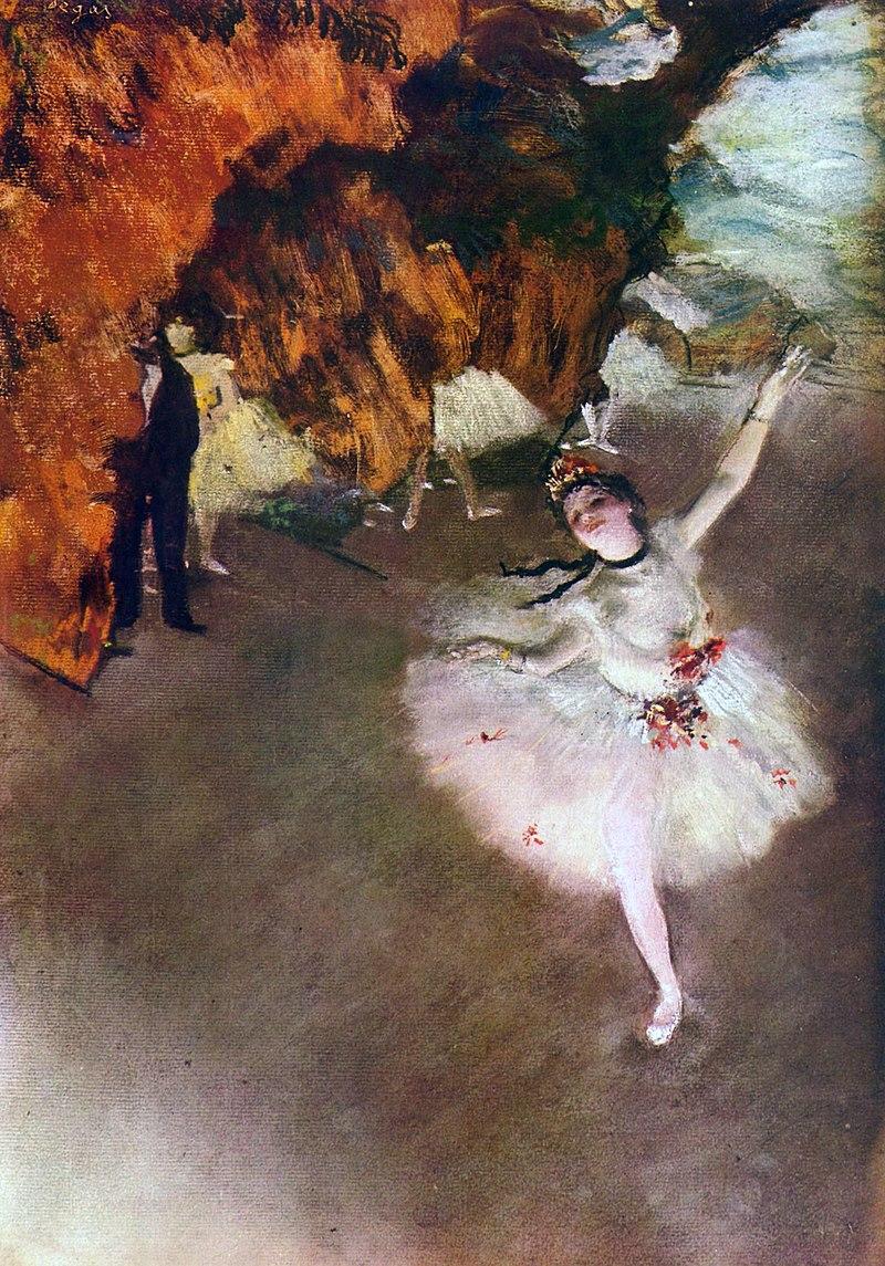 Эдгар Дега. Звезда балета (Прима-балерина)