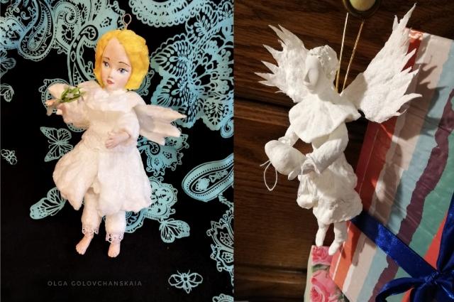 Ольга верит, что у каждого её ангела, как и у любого человека, есть свой характер.