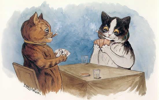 Луис Уэйн. Покер.