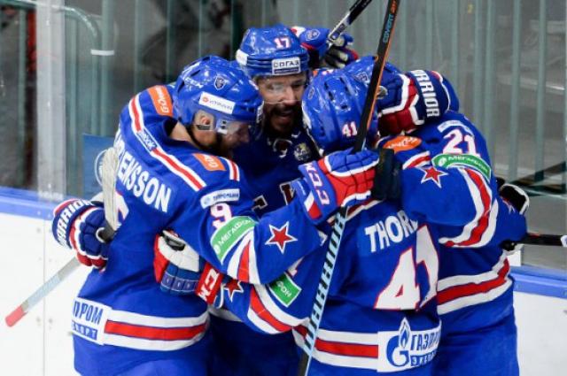 Хоккеисты СКА бьют рекорд за рекордом.