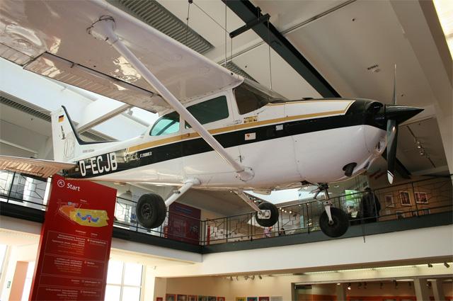 Самолёт Руста в Немецком техническом музее