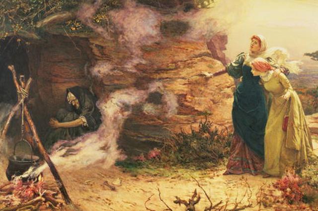 Э. Бревталь. Визит к ведьме. 1882