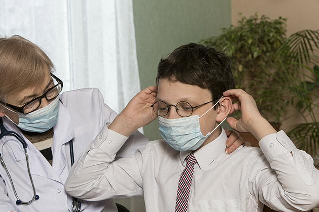 Школьники - основные распространители болезней.