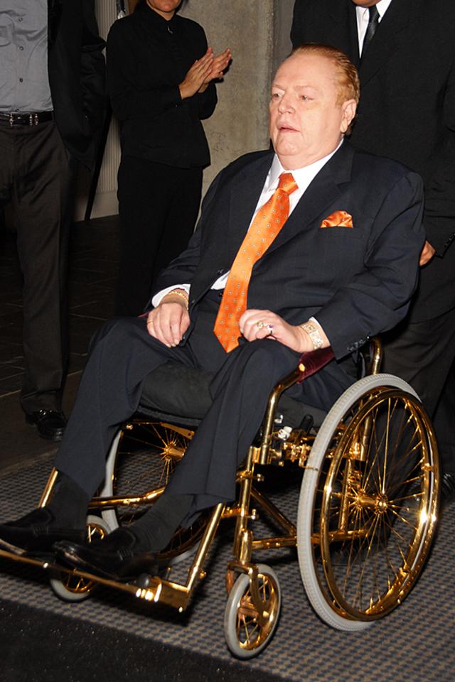 Ларри Флинт. 2009 год.