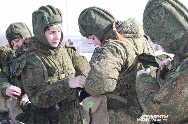 В спецназе всего 5% женщин-военных от общего состава подразделения.