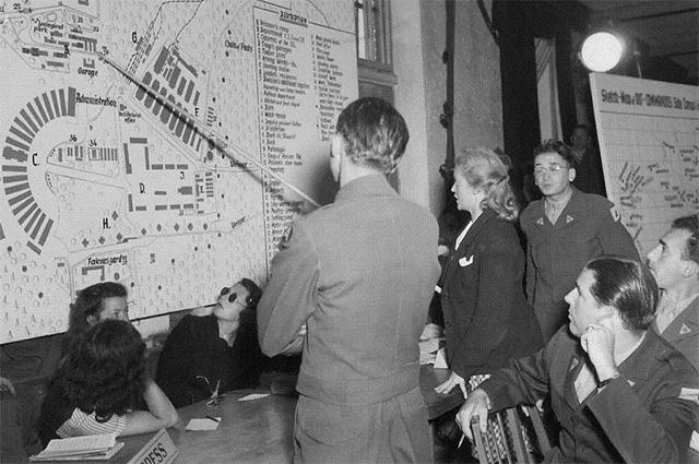 Ильза Кох перед военным трибуналом США в Дахау, 8.7.1947