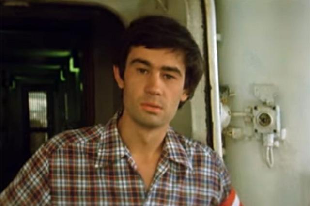 Сергей Бодров в фильме «Любимая женщина механика Гаврилова», 1981 г.