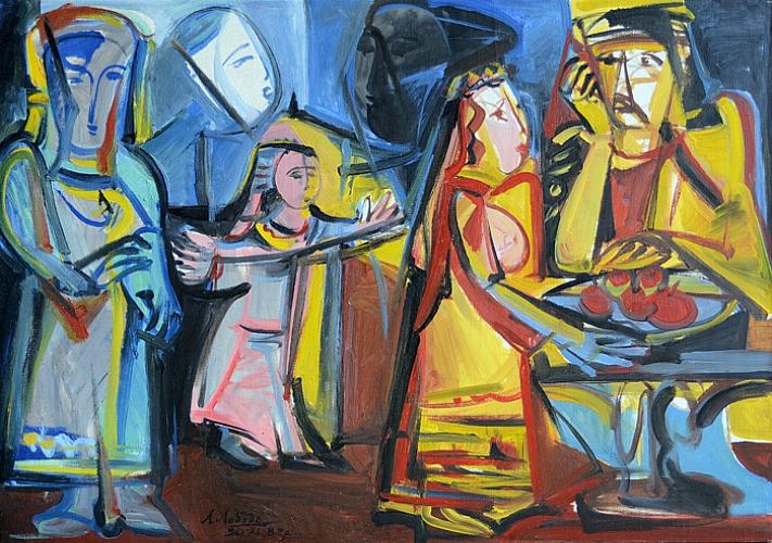 Выставка живописи Людмилы Лободы