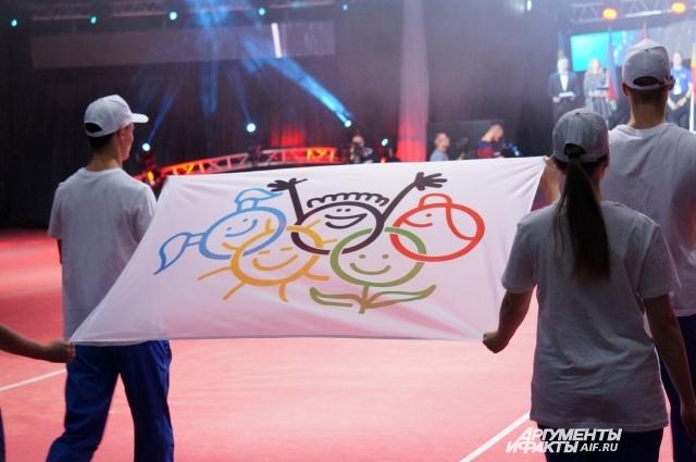 Официальный флаг фестиваля.