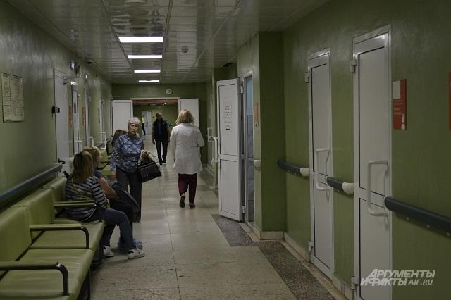 В Перми пациентам приходится ждать очереди на операцию.