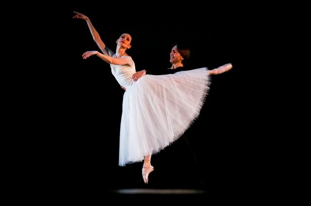 Классическая балетная хореография.