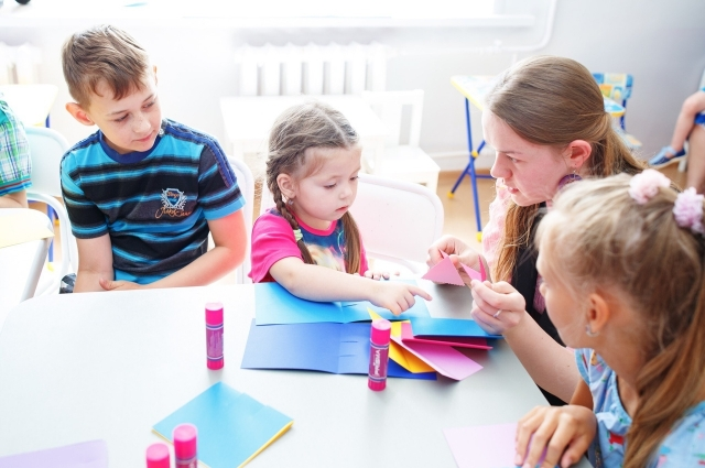 Творческие мастер-классы для детей.