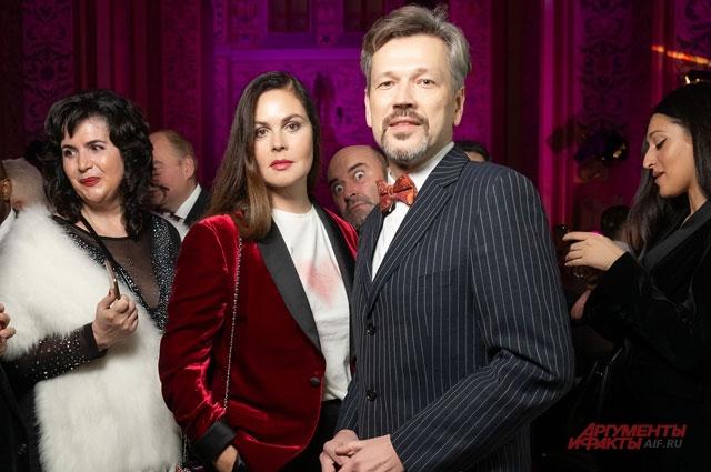 Екатерина Андреева, ведущая первого канала иКуницын Михаил, историк музыки, журналист ирадиоведущий.