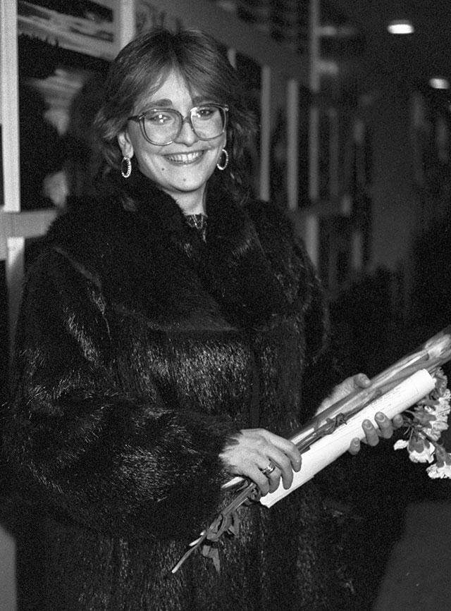 Актриса Ия Нинидзе, 1987 г.