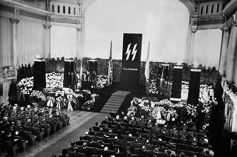 Похороны Христиана Фредерика фон Шальбурга