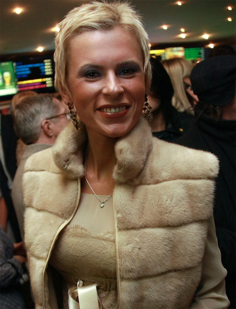 Экс-супруга Марата Башарова Елизавета Круцко.