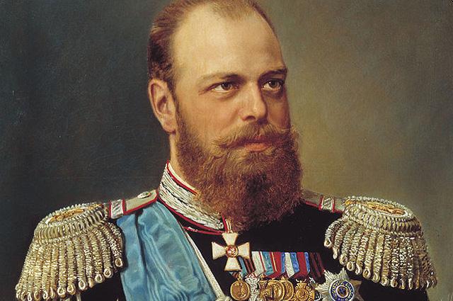 Александр III на портрете Н. Г. Шильдера