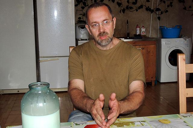 Вениамин Ковалев и его семья живут натуральным хозяйством.
