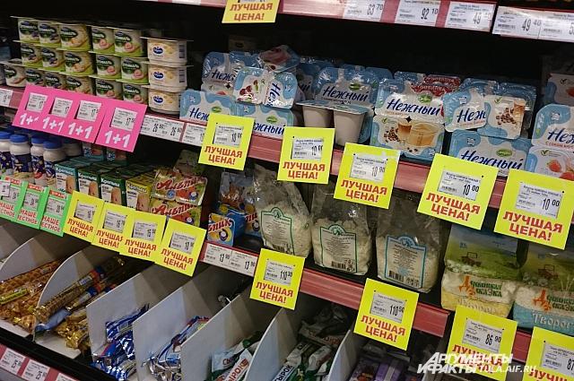 Цены продуктов упали. Временно.