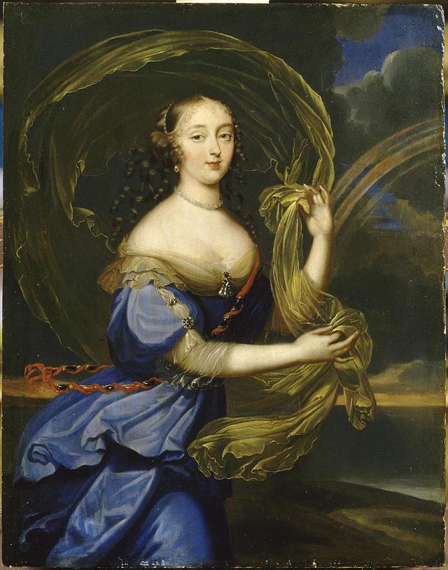 Маркиза де Монтеспан на картине неизвестного художника.